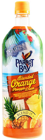 Parrot Bay Blended Orange Pineapple Dream